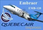 FS2004                   AI-AARDVARK Embraer EMB-120 Quebecair Express Textures only