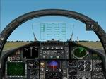 F-15C                   panel for FS2002.