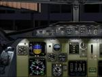 FS2004/2002                   Fokker 100 panel.