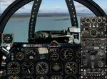 FS2004                   North American F-86 Sabre Panel