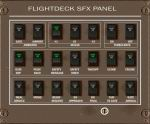 FS2004                     - FlightDeck Sound Effects Panel