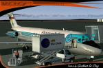 DC9-30 Sky Simulations Aeropostal aniversario