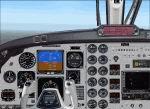 FS2004                   Beechcraft B200 panel.