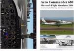 FS2004                   Manual/Checklist -- Aero Commander 680.