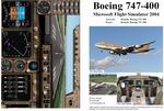 FS2004                   Manual/Checklist -- Default B-747-400