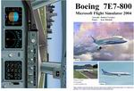 FS2004                   Manual/Checklist Boeing 7E7-800