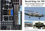 FS2004                   Manual/Checklist -- Default Beech King Air 350.