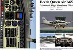 FS2004                   Manual/Checklist Beech Queen Air A65