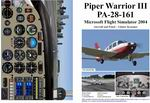 FS2004                   Manual/Checklist Piper PA-28-161 Warrior III