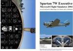 FS2004                   Manual/Checklist Spartan 7W Executive.