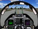 FS2004                  F-18 / Generic Modern Military Fighter Jet Panel
