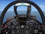 FSX Panel for AH Grumman F9F Panther