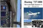 FSX                   Manual/Checklist Default Boeing 737-800.