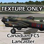 FSX Canadian MkX Lancaster - Texture for FCS