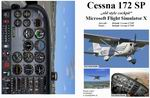 "FSX                   Manual/Checklist Default Cessna 172SP ""old style cockpit"""