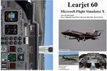 FSX                   Manual/Checklist Learjet 60.