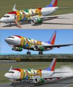 "Boeing737-700 Southwest ""Florida One"" Package"