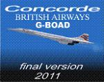 FS9/FSX Concorde British Airways G-BOAD Textures