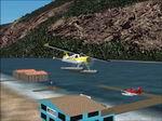FS2002                   Lillooet BC floatplane Scenery