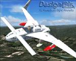 "FS2004                     RUTAN Long-EZ HB-YCT ""Millennium Flight""."