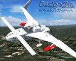 "FS2004                     RUTAN Long-EZ HB-YCT ""Millennium Flight""."