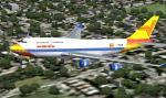 FS2004 Boeing 747-400 Air Vietnam