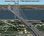 FS2004                   Humber Bridge Scenery, UK.