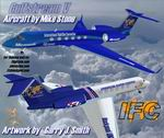 FS2004                   IFC- Gulfstream V - Two liveries Aircraft