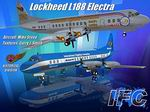 FS2004                   IFC- Lockheed L188 Electra - Two liveries