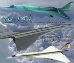 FS2004                     IFC-TU144 - Aircraft and Three Liveries Package.