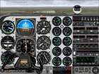 FS2000                     Beech Baron High Resolution IFR panel
