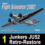 FS2004                   JU52 Retro Restore Project Pt 1 of 2