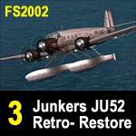 FS2004                   JU52 Retro Restore Project Pt3