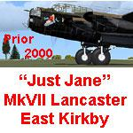 FSX JUST Jane Avro Lancasters with 6 Fuel Tank Update