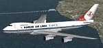 FS98/FS2000                   Korean Air Lines 747-2B5B