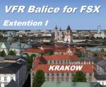 FSX VFR Balice, Poland , Extention I