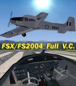 FSX/FS2004 Ryan L-17B Navion Hellenic Air Force 91962 Package.