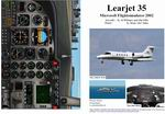 FS2002                   Manual/Checklist -- Learjet 35