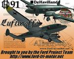 deHavilland DH91 Albatross - Luftwaffe Textures