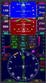 M1000A Primary Flight Display