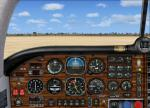 FSX Mooney Bravo - Wood 2d panel Textures V1.1