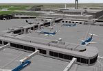 FS2000                   Scenery--MILWAUKEE GENERAL MITCHELL INTERNATIONAL AIRPORT