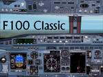 FS2002                   - Aircraft Mozambique - INTER Liners Fokker 100