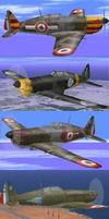 MS406             Aircraft and Skin-pack