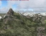 FS2004                     Alps Mesh - Switzerland & France High-quality mesh