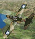 CFS             Bell Model-14 Airacobra, Flying Tigers