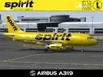 Airbus A319-132 Spirit Airlines