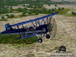 New Standard D 25A N19157 Dallas Cowboys BiPlane