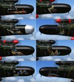 FSX/P3D Northrop P-61C Black Widow 8 Textures set