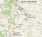 FSX Flight Plan for OB-18 La Junta Colorado